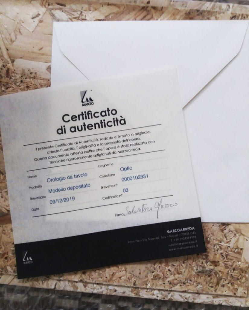 certificazioni e brevetti